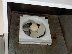 台所の換気扇の交換に挑戦